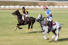 De Maleise Open (Vage) Actie van het Polo Royalty-vrije Stock Afbeeldingen