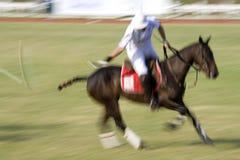 De Maleise Open (Vage) Actie van het Polo Stock Fotografie