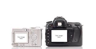 De Malplaatjes van de camera royalty-vrije stock fotografie