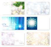 De malplaatjes van de kerstkaart Royalty-vrije Stock Foto