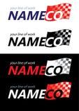 De malplaatjes van het embleem, het brandmerken Royalty-vrije Stock Foto's