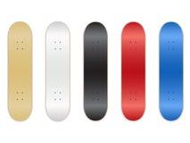 De Malplaatjes van het skateboard Royalty-vrije Stock Foto's