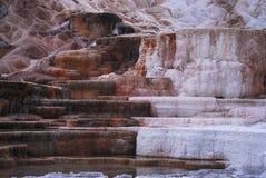 De mammoet Lentes: Het Nationale Park van Yellowstone Royalty-vrije Stock Fotografie