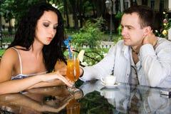 De man en de vrouw Royalty-vrije Stock Afbeelding