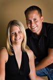 De Man en de Vrouw van Beauitful Royalty-vrije Stock Afbeelding