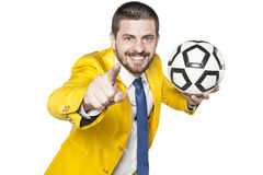 De manager kiest het volgende talent stock foto's