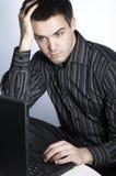 De manager van IT Stock Afbeeldingen
