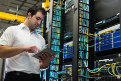 De manager van Datacenter Stock Foto's