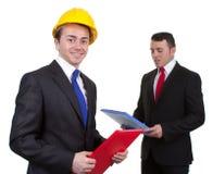 De manager van de bouw Stock Foto's