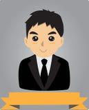 De manager van de bureaumens Stock Foto's