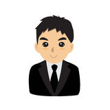 De manager van de bureaumens Stock Fotografie