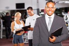 De manager van de gymnastiek Royalty-vrije Stock Afbeelding