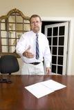 De Manager van het bureau Stock Afbeelding