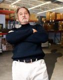De manager van het pakhuis Stock Afbeelding