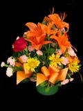 De mand van bloemen Stock Foto's