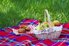 De mand van de picknick Royalty-vrije Stock Fotografie