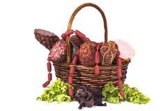 De Mand van de salami Royalty-vrije Stock Afbeelding