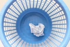 De mand van het afval Stock Foto's