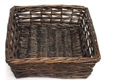 De mand van het bamboe Stock Afbeelding