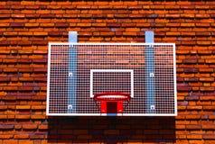 De mand van het basketbal stock afbeeldingen