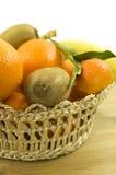 De mand van het fruit Stock Afbeelding