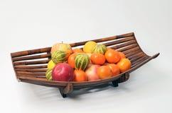 De mand van het fruit Stock Foto