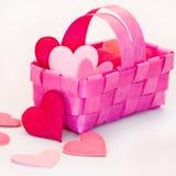 De mand van het hart Royalty-vrije Stock Afbeeldingen