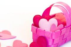 De mand van het hart Stock Fotografie
