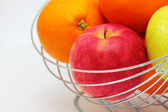 De mand van vruchten Stock Foto's
