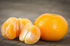De mandarijnen. Stock Afbeeldingen