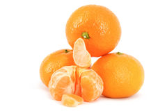 De mandarijnen. Stock Afbeelding