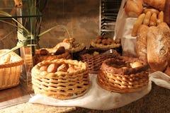 De manden van het brood Stock Foto's