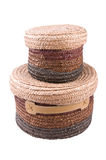 De manden van het stro. Royalty-vrije Stock Afbeelding
