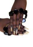 De manicure van het spijkerontwerp Stock Afbeeldingen