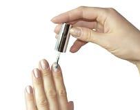 De Manicure van vrouwen stock afbeelding