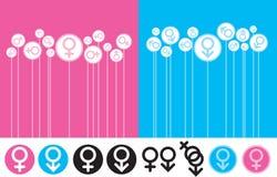 De Manie van het geslacht stock illustratie