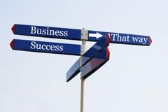 De manier aan succes Stock Afbeelding