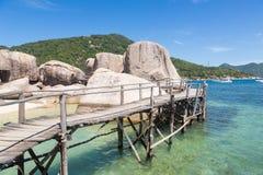 De manier aan Thailand Royalty-vrije Stock Fotografie
