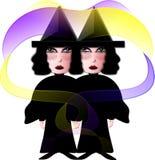 De Manier van de heks? vector illustratie