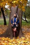 De manier van de herfst Stock Fotografie