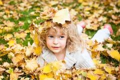 De manier van de herfst Royalty-vrije Stock Foto's