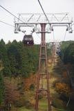 De Manier van de Kabel van Hakone Royalty-vrije Stock Foto's