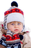 De manier van de winter Stock Foto's