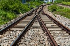De manier van het spoor Stock Afbeelding