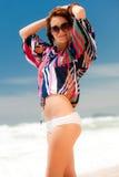 De Manier van het strand Stock Foto's