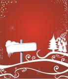 De manier van Kerstmis Stock Afbeeldingen
