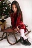 De manier van Kerstmis Stock Foto