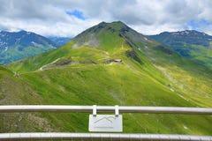 De manier van Stubnerkogel, Slechte Gastein, Kabelbaan, Oostenrijk Stock Afbeelding