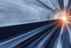 De manier voorwaartse spoorweg royalty-vrije stock afbeelding