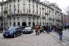 De manierweek van Milaan Royalty-vrije Stock Foto